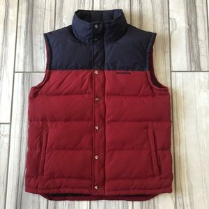 Patagonia Bivy Down vest. EUC